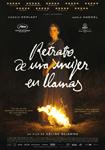 """""""Retrato de una mujer en llamas"""" pelikularen kartela"""