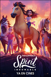 """Spirit - Indomable"" pelikularen kartela"