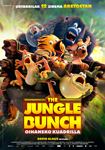 """""""The Jungle Bunch: Oihaneko Kuadrilla"""" pelikularen kartela"""