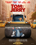 "Cartel de la película ""Tom y Jerry"""