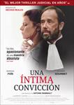 """""""Una íntima convicción"""" pelikularen kartela"""