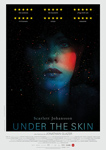 """Under The Skin"" pelikularen kartela"