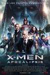 """""""X-Men: Apocalypsis"""" pelikularen kartela"""