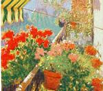 Balcón florido