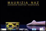 """Cartel del espectáculo """"Maurizia naz"""""""