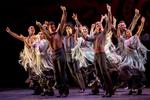 "Momento del espectáculo ""Naturalmente Flamenco"" (foto: Félix Vázquez)"