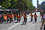 Momento de la Fiesta Infantil de la Bicicleta de Donostia