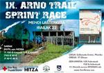 Cartel de la prueba - ARNOTRAIL SPRINT RACE - Carrera de montaña