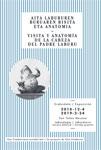 """Folleto de la exposición """"Visita y anatomía de la cabeza del Padre Laburu"""""""