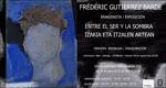Folleto de la exposición de Frédéric Gutierrez Barde