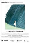 Folleto de la exposición de Leire Salaberria en Andoain 2021
