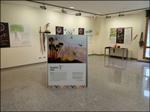 """Vista de la exposición """"Hizkuntza indigenak. Ama Lurra zaintzen"""" de Aretxabaleta"""