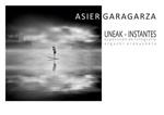 """Folleto de la exposición """"Uneak / Instantes"""" de Asier Garagarza"""