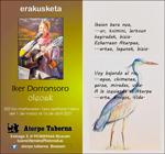 "Folleto de la exposición ""Oleoak"" de Iker Dorronsoro"