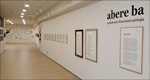 """Fotografía de la exposición """"Abere ba"""""""