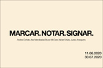 "Folleto de la Exposición ""Marcar. Notar. Signar."""
