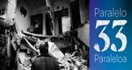 """Folleto de la exposición """"Paralelo 33, un viaje a través del conflicto"""""""
