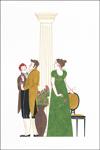 """Folleto de la exposición """"Jane Austen, vida y obra"""""""