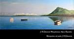 """Folleto de la exposición """"Retrospectiva del pintor J.R. Echeverria"""""""