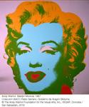 Obra de la exposición (Andy Warhol. Marilyn Monroe 1967)