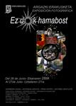 """Folleto de la exposición """"Ez Dok Hamabost"""""""