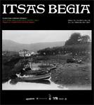 """Folleto de la exposición """"Itsas Begia. Una Mirada Sobre El Patrimonio Marítimo Vasco"""""""