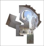 """Folleto de la exposición """"Conexiones. Arte y arquitectura"""""""