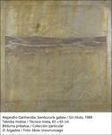 """Obra de la exposición """"Alejandro Garmendia. Paisajes, enigma y melancolía"""""""