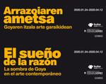 """Folleto de la exposición """"El sueño de la Razón"""""""