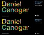 """Folleto de la exposición """"Daniel Canogar. Memorias líquidas"""""""