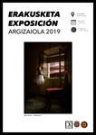 """Folleto de la exposición """"Trofeo Argizaiola 2019"""" de Legazpi"""