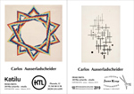 Carteles de las xposiciones sobre Carlos Ausserladscheider de Legazpi 2019