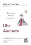 """Libe Anduezaren """"Kolorearen alderdi magikoak"""" erakusketaren foiletoa"""
