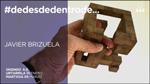 """Folleto de la exposición """"#dedesdedentrode..."""" de Javier Brizuela"""