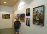 """Fotografía de la exposición de Iñaki Galabide """"Igala"""" en Ormaiztegi"""