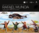 """Folleto de la exposición """"Rafael Munoa. Captura de dos ballenas, 1763"""""""