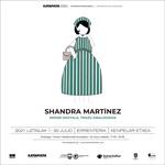 """Shandra Martínezen """"Mihise Digitala, Trazu Analogikoa"""" erakusketaren foiletoa"""