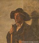 """Cuadro """"El ciego de Arrate"""" de Ignacio Zuloaga (Foto: Fundación Zuloaga, Zumaia)"""
