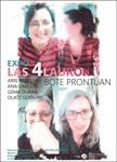 """Folleto de la exposición """"Bote prontuan"""" de Zumaia"""
