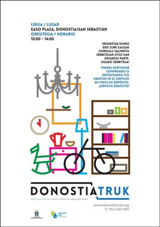 Cartel del DonostiaTruk