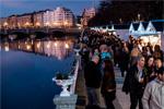 Imagen del Gran Mercado de Navidad de Donostia