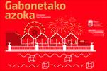 Cartel del Gran Mercado de Navidad de Donostia 2017