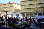 Feria plaza de Justicia