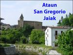 Ataungo San Gregorio auzoko bista