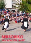 Momento de las Fiestas de San Agustín de Berrobi