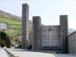 Vista del Santuario de Arantzazu