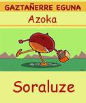 Soraluzeko Gaztañarre Azokaren kartela