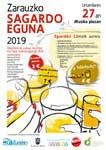 Cartel del Sagardo Eguna de Zarautz 2019