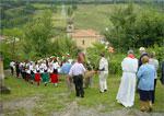 Procesión de San Bartolomé en Zegama