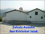 Ermita de San Cristobal de Saiatz de Aizarnazabal